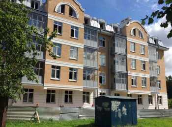 Общий вид на ЖК Pushkin House